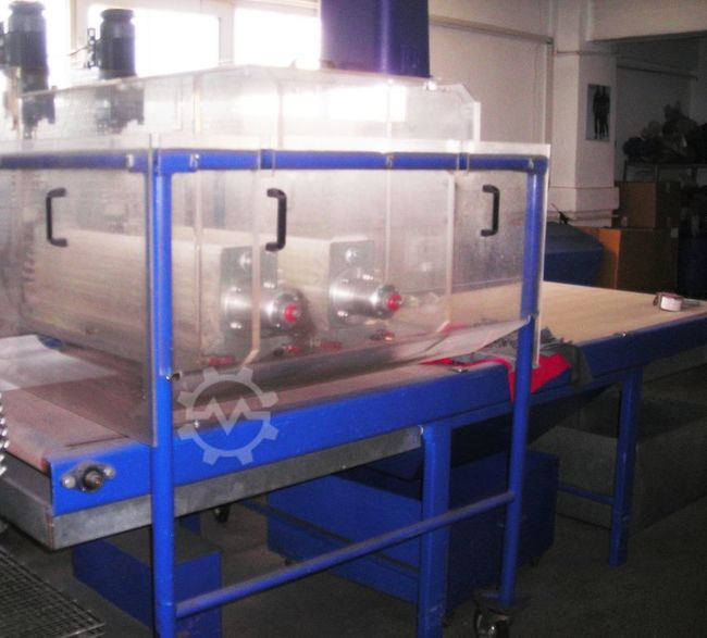 MAAG Flock Auto continuous textile Flocking Unit