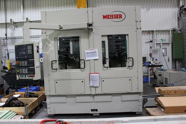 J.G.WEISSER Pick-up Drehmaschine