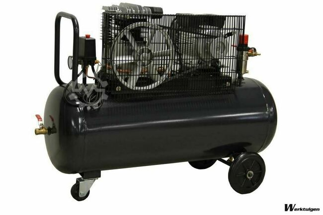 Zion Air Compressor 3 Pk 220 V.100 L. 8 Bar