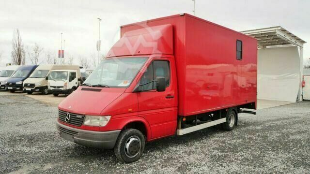 Mercedes-Benz Sprinter 412D PFERDETRANSPORT / bis 3,5t