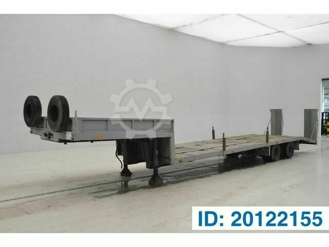 Sonstige/Other VARMO Low bed trailer