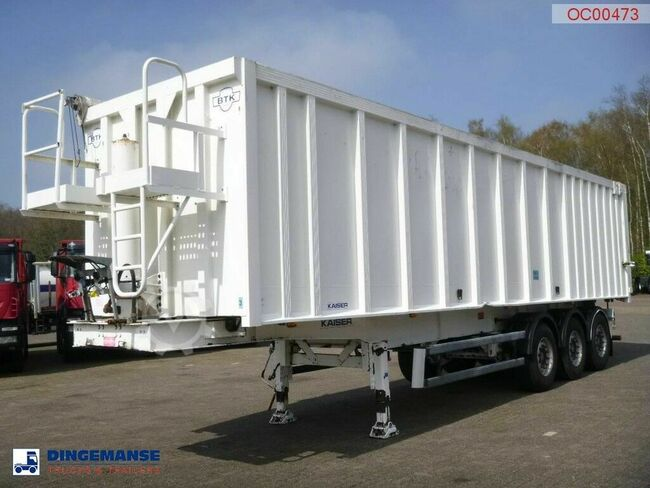 Robuste Kaiser Tipper alu / chssis steel 49 m3 /waterclosed body