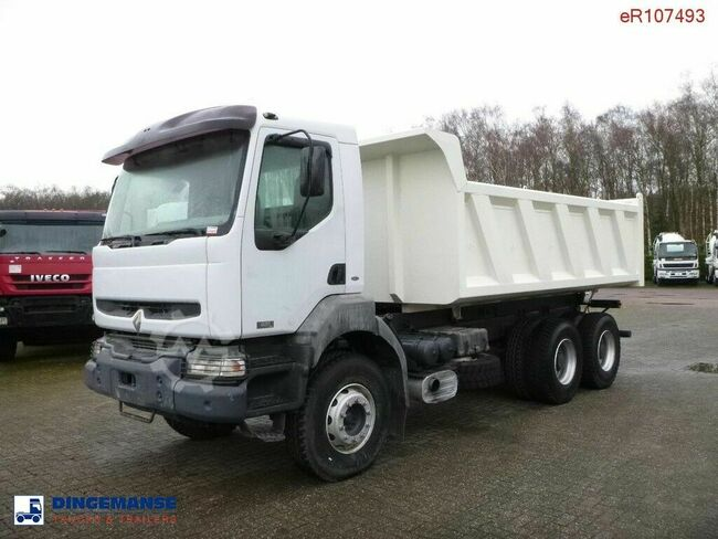 Renault Kerax 420 6x4 Marrel tipper