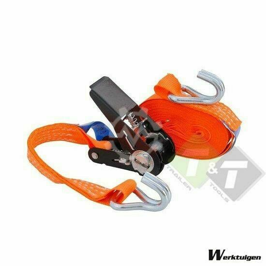 Trailer And Tools Spanband, sjorband 0.8 Ton x 3 meter, 2,5 cm breed