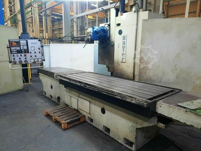 ZAYER BF3000 CNC Bed Miller with Fagor CNC