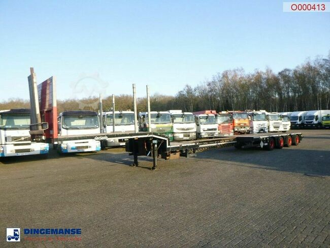Nooteboom 4-axle semi-lowbed trailer OSD-58-04V / extendable