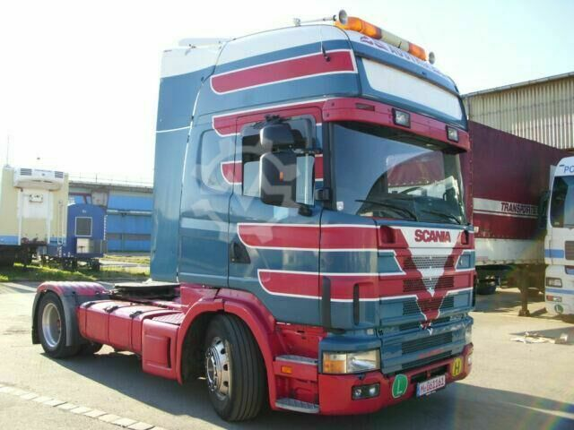 Scania 164 480 V8, EURO 3, TOP ZUSTAND