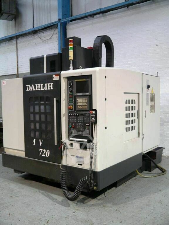DAHLIH MCV 720 3 Axis Vertical Machining Centre.  Manufactured 2012. Fanuc OI MD Control.