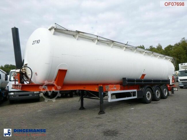 Feldbinder Powder tank alu 63 m3 (tipping)
