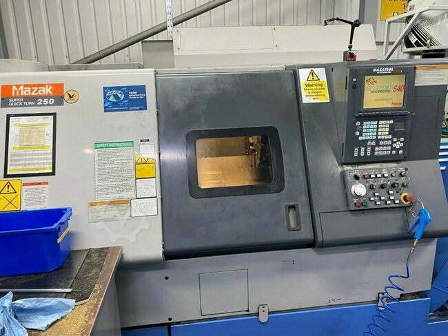 MAZAK Super Quickturn 250 355mm x 530mm CNC Lathe