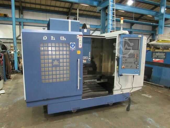 DAHLIH DL-MOV 1020BA Vertical Machining Centre. Heidenhain i530 Control. Manufactured 2006