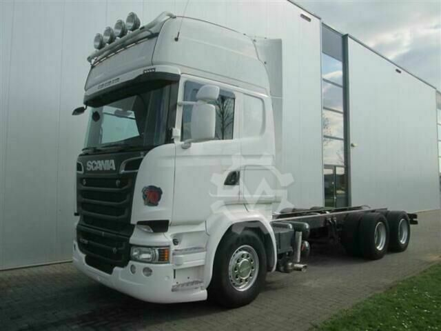 Scania R730 6X4 OPTICRUISE RETARDER EURO 6