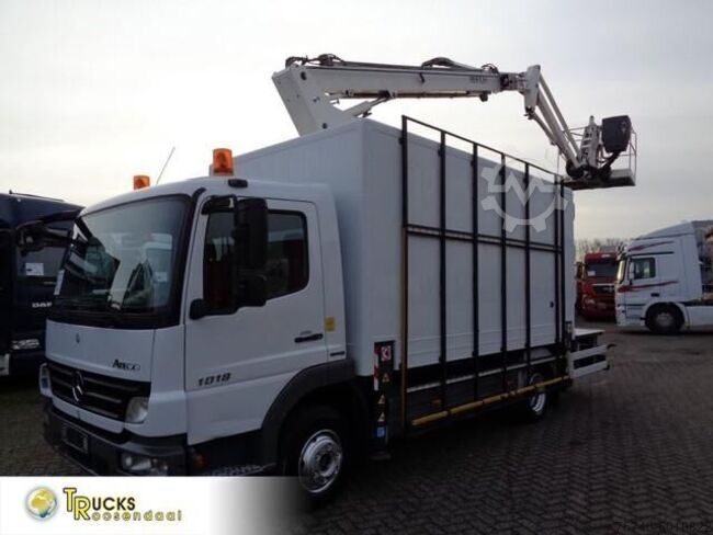 Mercedes-Benz Atego 1018 Manual PTO PLATFORM