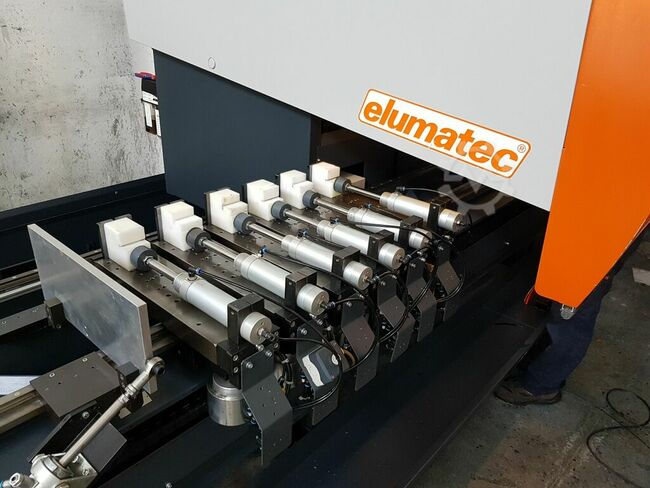 Elumatec SBZ130 with Tacting Sawblade