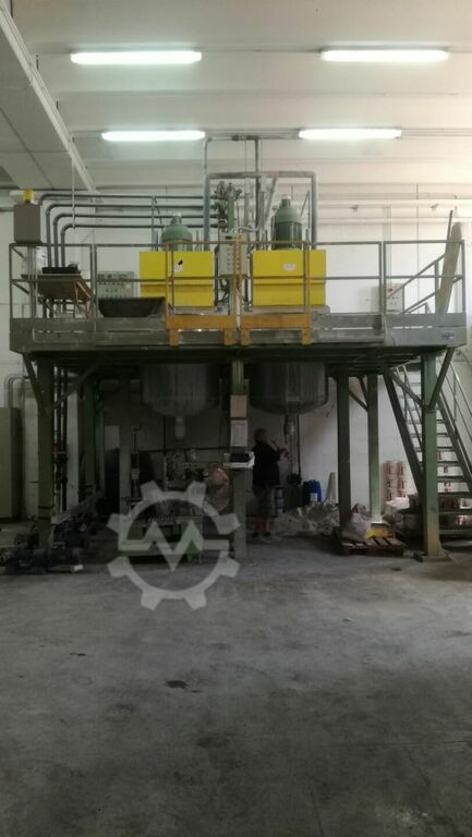 DIAMAC dissolver  Production coating line paints disolver