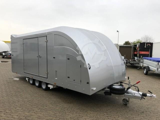 Brian James Trailers Race Transporter 6, RT6 386 2030, silber, 5500 x
