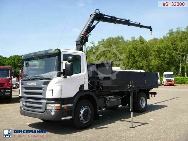 Scania P270 LB 4X2 Hiab XS 099 B 3 Duo / NEW/UNUSED