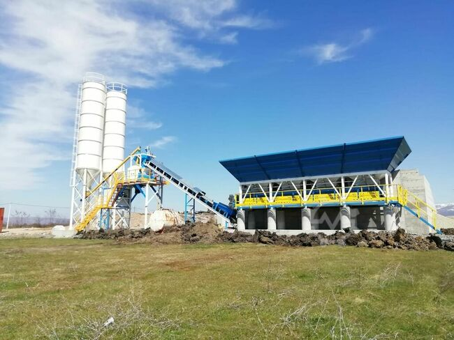 PROMAX Concrete Batching Plant С60-SNG LINE