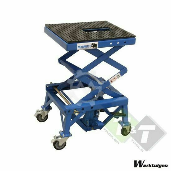 Trailer And Tools Motorfiets Cross Schaar-lift, hoogte 93cm, max 135