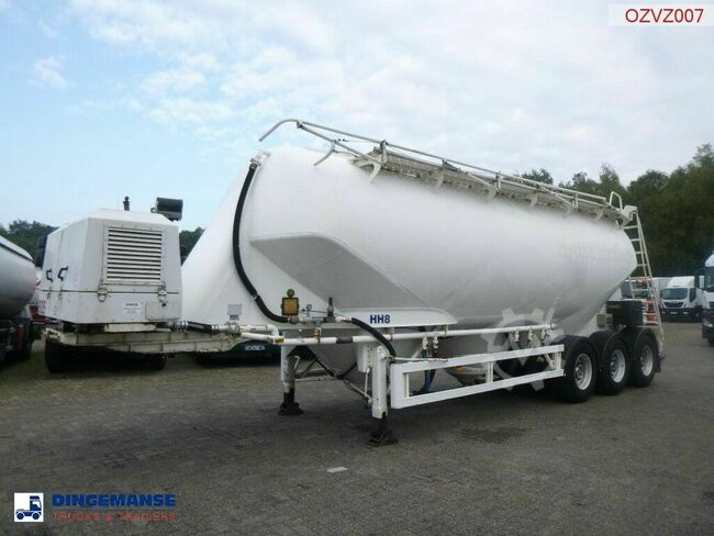 zvvz Powder tank alu 40 m3 + engine/compressor