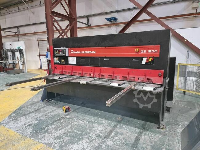 AMADA PROMECAM GS1230 3000mm x 12mm Hydraulic Guillotine