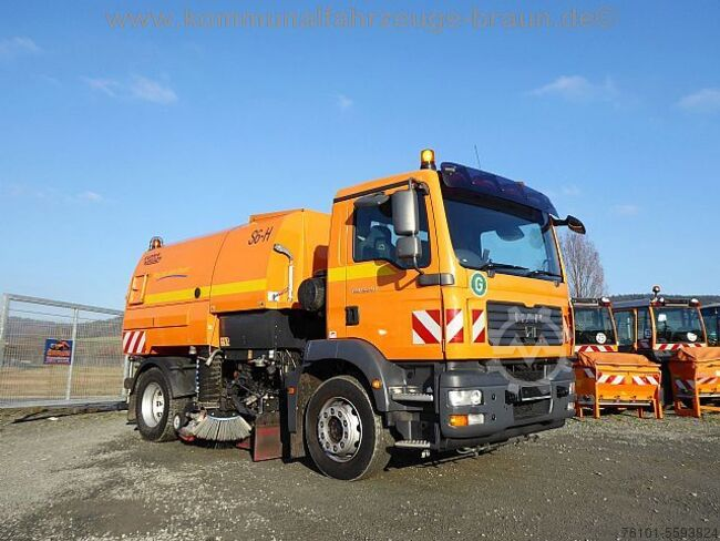 MAN MAN TGM 15.250 Johnston 6m³