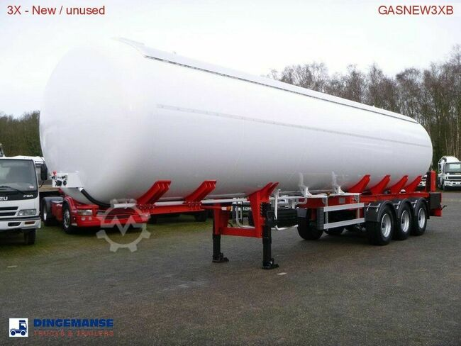 MTD Gas tank steel 57 m3 NEW - 3 Axle BPW - DRUM