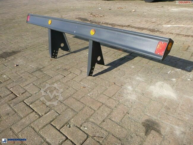 Onbekend Steel rear bumper