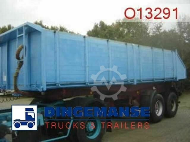 Langendorf Tipper trailer 19 m3 alu 3 way