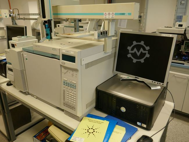 Agilent HP GC 6890 Plus MS 5973