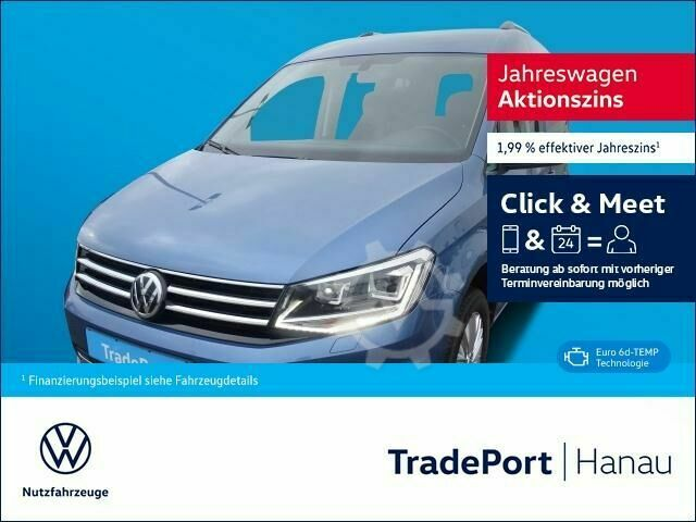 VW Caddy Highline TDI 4Motion Xenon PDC