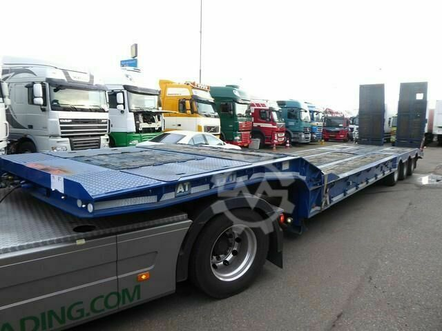 Sonstige/Other Andover lowbed, Rampe, ABS, SFCL40