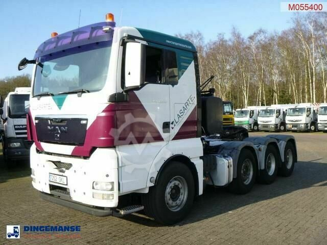 MAN TGX 41.540 8X4 manual Euro 5 / 160000 kg
