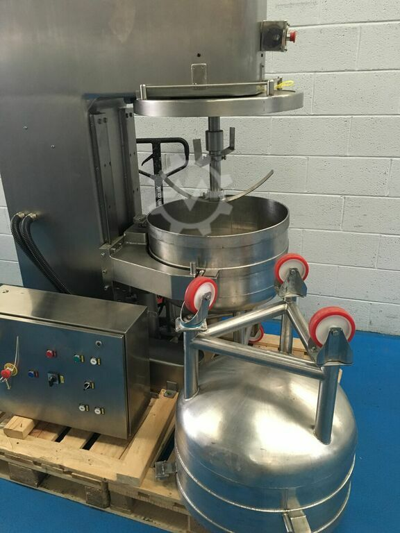 COLLETTE  SM100 mixer, all stainless with 2 bowls
