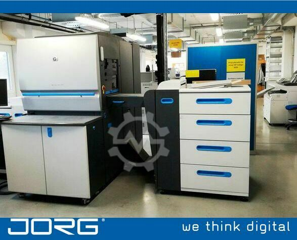 HP Indigo 5500 | Reconditioned by