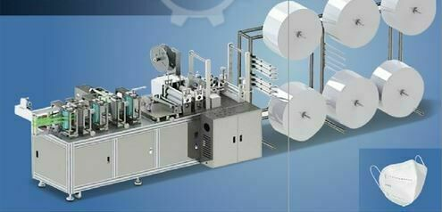 Semi-Auto Mask Making Machine