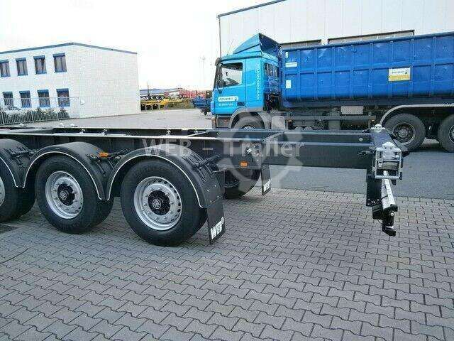 Web Trailers TRAILER COSW 27 Multi 20ft 2x20ft 40ft