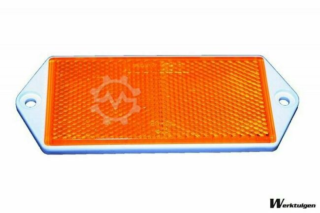 Trailer And Tools Reflector Oranje 100 mm x 50 mm
