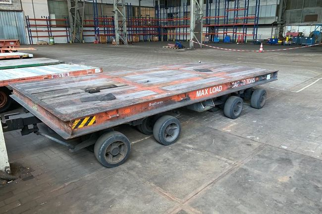 BUISCAR Holland industrial trailer
