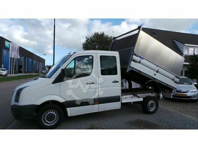 VW Crafter 46 2.5 TDI L2 DC Kipper airco,Trekhaak