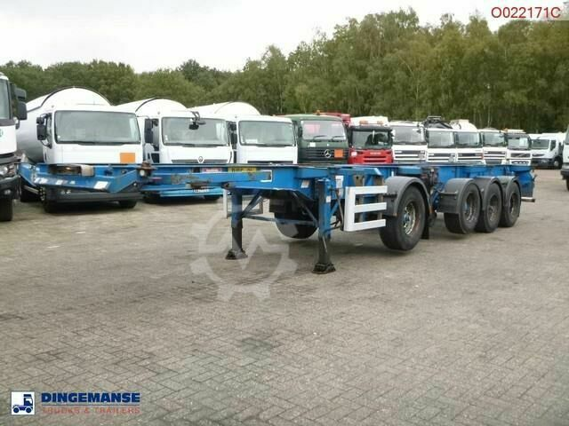 Sonstige/Other Dennison 4 axle container combi trailer (3 1 ax
