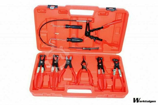 Trailer And Tools Flexibele slangklem tang set 7 delig