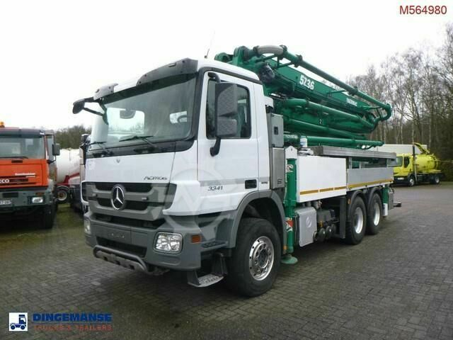 Mercedes-Benz Actros 3341 6x4 Sermac 5Z36 concrete pump