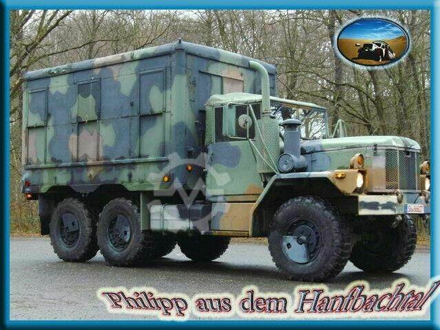Sonstige/Other AM General M109A4 US Army Reo Shop Van Cat Motor