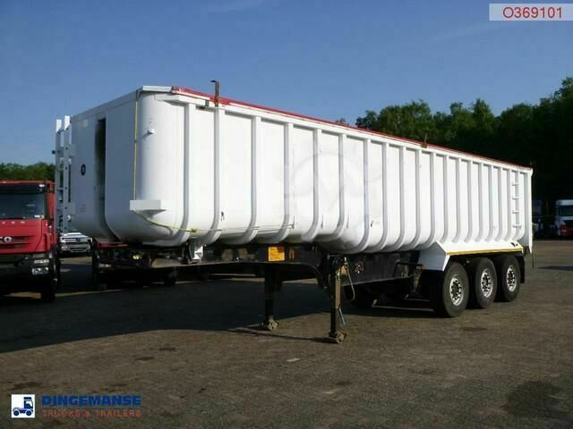 General Trailer Tipper alu / steel 41 m3 tarpaulin