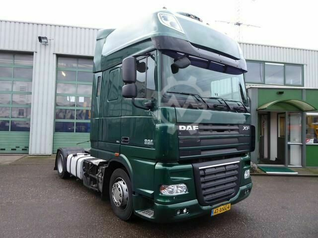 DAF XF 105 460, retarder, manual, 2 x tank, Mega Lowde