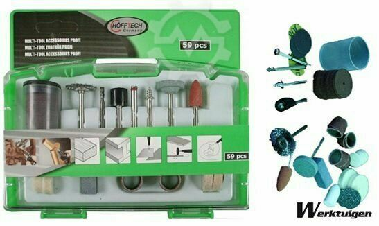 Trailer And Tools Multi tool accessoires set 59 delig
