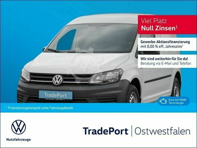 VW Caddy Kasten TDI 102PS Klima ParkPilot