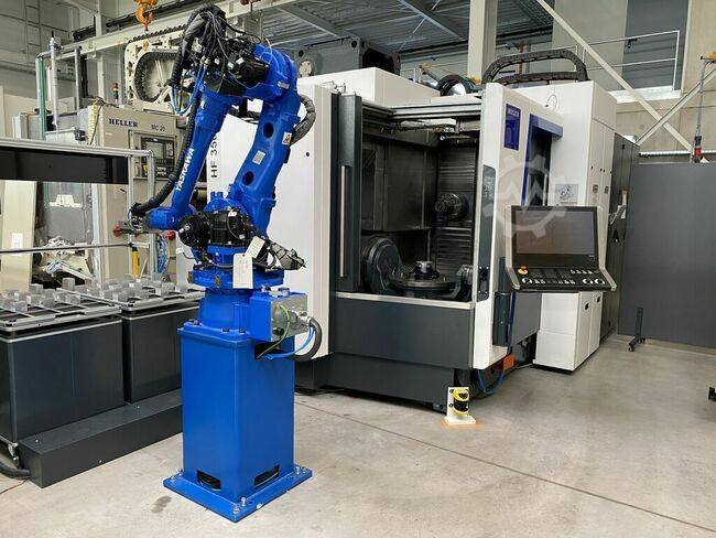 Heller HF 3500 mit STS Automation