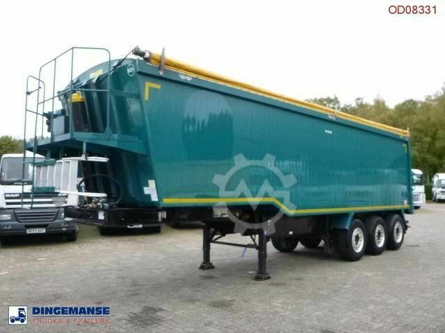 Sonstige/Other Weightlifter Tipper trailer alu 50 m3 tarpaulin